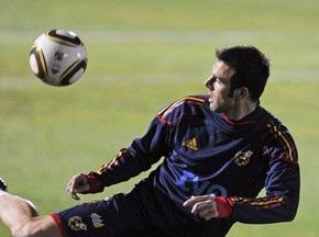 Збірна Іспанії гратиме у фіналі ЧС-2010 у темно-синій формі