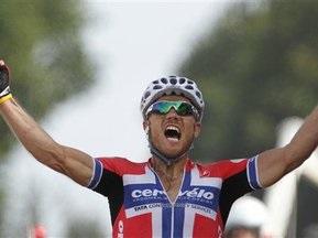 Хушовд стал лучшим на третьем этапе Тур де Франс