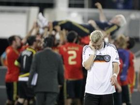 Протистояння Іспанія vs Німеччина мовою цифр