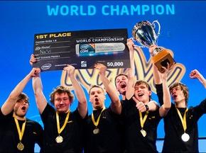 Украинцы выиграли Чемпионат мира по Counter-Strike