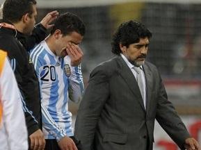 Марадона збирається залишити збірну Аргентини