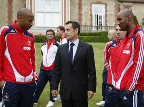FIFA обурена втручанням французької влади у справи збірної