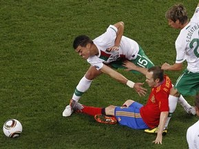 Пепе: Испанцы забили нам гол из оффсайда
