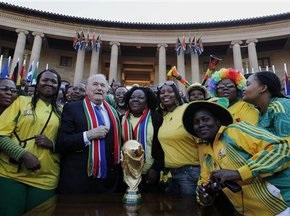 Пограбовано штаб-квартиру FIFA в ПАР. Викрадено сім копій Кубка світу і два светри