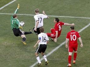Судья не засчитал чистый гол Лампарда в ворота Германии