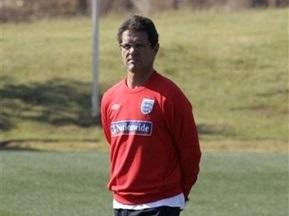Капелло внесет изменения в состав сборной Англии