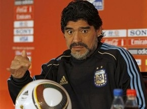 Марадона выставит на матч с Мексикой сильнейший состав