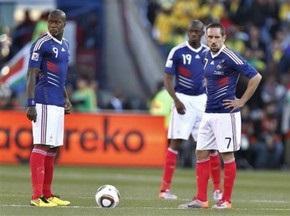 FIFA может дисквалифицировать сборную Франции