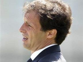 Аллегри официально возглавил Милан