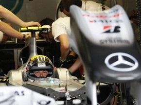 Гран-при Европы: Росберг выиграл первую практику
