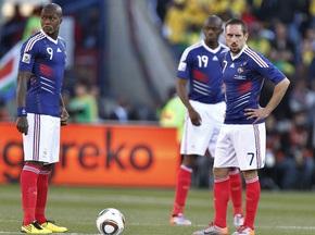 Французы откажутся от премиальных за участие в ЧМ-2010