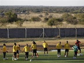 Сборная Ганы перенесла тренировку из-за замерзшего поля
