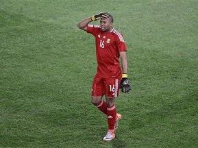Воротар ПАР став другим вилученим голкіпером в історії Чемпіонатів світу