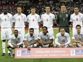 На ігрову форму збірної Англії протекла каналізація