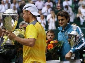 Галле АТР:  Хьюитт обыграл Федерера в финале