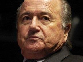 Блаттер хочет остаться президентом FIFA на второй срок