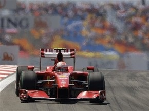 Физикелла протестировал новую модификацию болида Ferrari