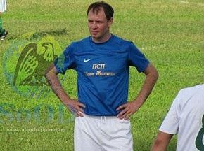 Александр Мелащенко будет выступать в чемпионате Полтавской области