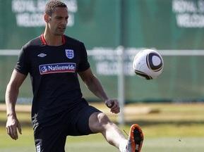 Фердинанд получил травму на тренировке сборной Англии в ЮАР