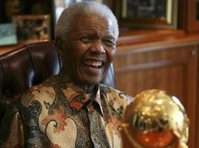 Нельсон Мандела відвідає відкриття ЧС-2010