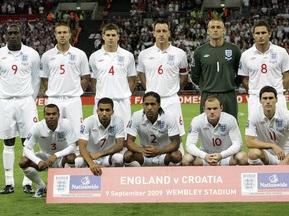 Збірна Англії в ПАР буде найбільш віковою за всю історію