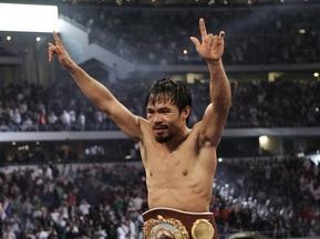 Пакьяо признали лучшим боксером десятилетия