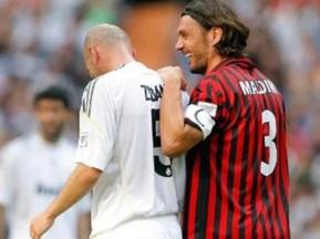 Ветераны Реала и Милана провели благотворительный матч
