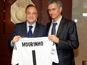 Реал представил Моуриньо в качестве главного тренера