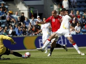Норвегия обыграла Черногорию
