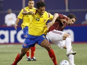 Колумбійську збірну обікрали в ПАР