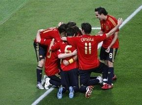 Букмекери ставлять на перемогу іспанців на ЧС-2010