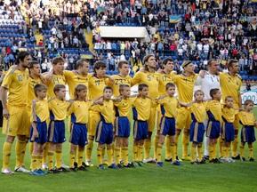 Фотогалерея: Не комом. Украина громит Литву в дебютном матче Маркевича