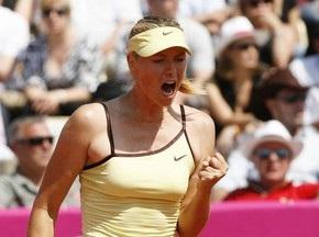 Шарапова выиграла турнир в Страсбурге