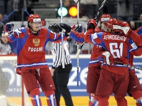 Фотогалерея: Малая месть. Россия побеждает Канаду на Чемпионате мира
