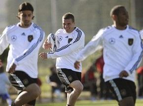 Сборная Германии по футболу сыграла в регби