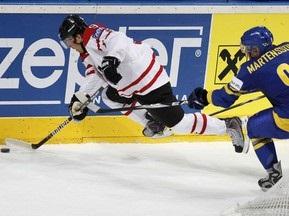 ЧМ по хоккею: Швеция взяла верх над Канадой