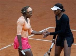 Сестры Уильямс выиграли 18-й титул в парном разряде