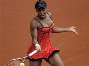 Мадрид WTA: Венус Вільямс вийшла у фінал