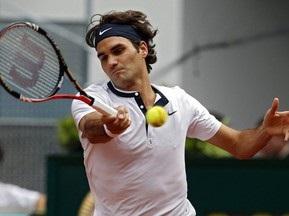 Федерер с уверенной победы начал защиту титула в Мадриде