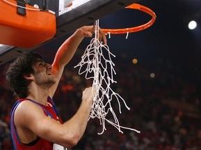 Фотогалерея: Барса - Чемпион. Праздник баскетбола в Париже