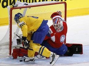 ЧМ по хоккею: Хет-трик Вейнхандля принес шведам победу над Норвегией