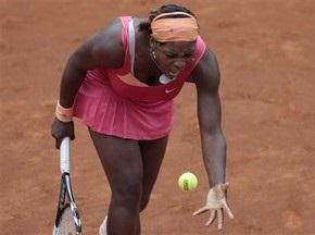 Рим WTA: Серена Уильямс вслед за сестрой уступает Янкович