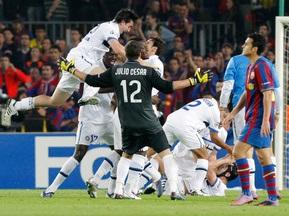 Фотогалерея. Интер выстоял. Барселона сложила полномочия