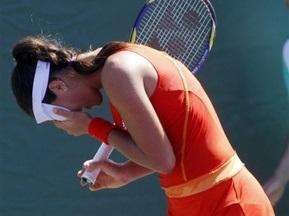 Ана Іванович залишає турнір в Штутгарті