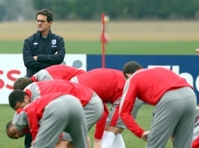 Капелло дозволить футболістам збірної Англії взяти дружин на ЧС-2010