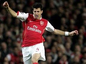 Арсенал вдвічі підвищив зарплату Фабрегасу
