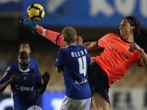 Примера: Барселона и Чигринский побеждают Херес, Реал одержал непростую победу