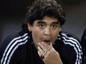Аргентинські вболівальники хочуть змусити Марадону носити костюм