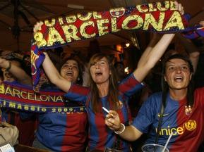 Барселону в Милане поддержат 350 болельщиков