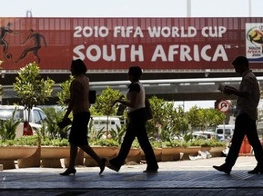 Туристы отказываются ехать на ЧМ-2010 в ЮАР